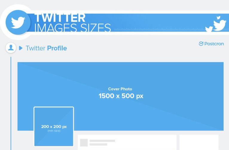 tamanho capa twitter