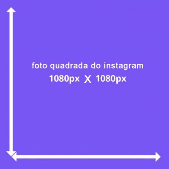 tamanho post instagram feed