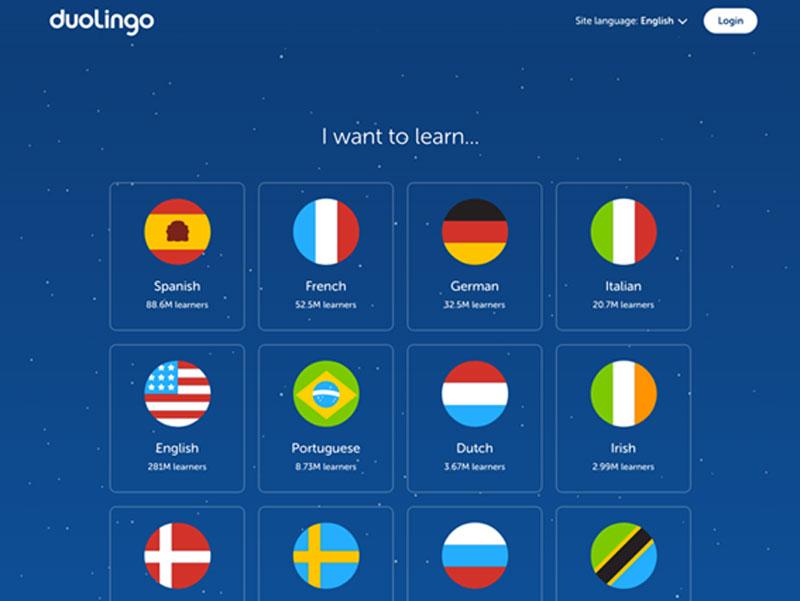 user experience exemplos duolingo