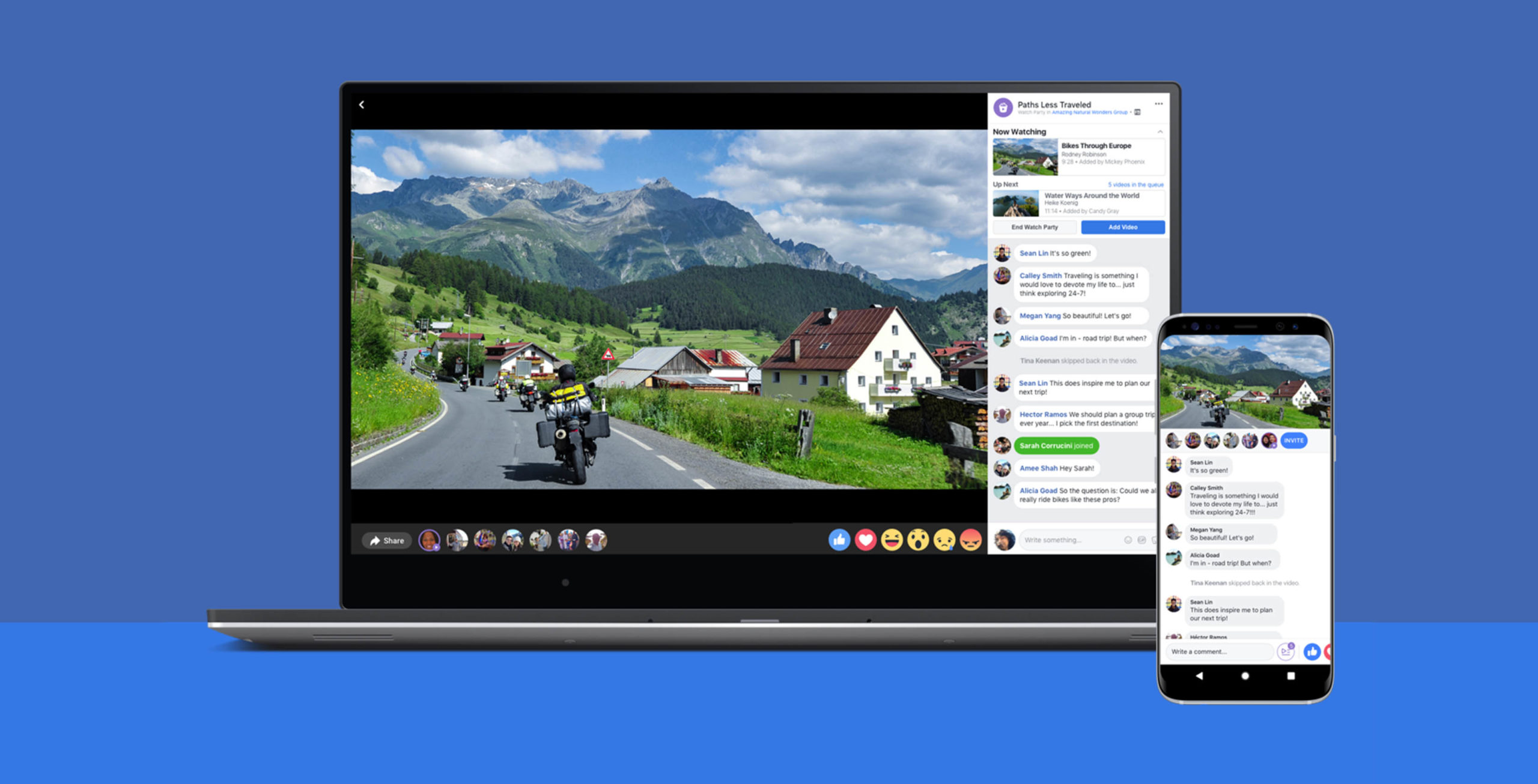 Como encontrar no Facebook Watch vídeos